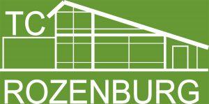 Logo Rozenburg TC wit (Venneker)