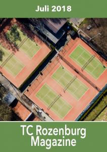 TC Rozenburg Magazine Juli 2018